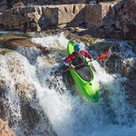 Whitewater kayaking on the River Etive