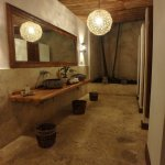 bathroom in the lobby