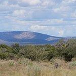 Blick zum Waterberg Plateau