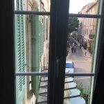 Chambre vert olive ... grande déception pour la vue et le charme