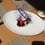 Beautiful cheesecake dessert!