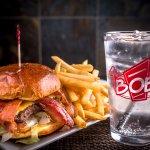 Bob's Awesome Bacon Burger!