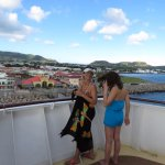 View of St Kitts from the Cruise Ship