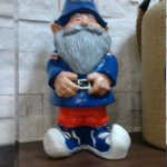 This is my gnome friend.  One day, my pretty.  I named him Jennifer......after me, of course.