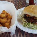 Double burger w tots!