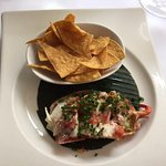 lobster nacho starter! YUM