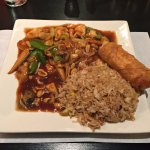 Chicken Kung Pao with Plum Sauce