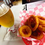 Onion rings - good but way over priced