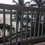 Early evening view from Royal Suite room 232 over Mamora Bay