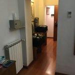 from inside the room toward bathroom & entry
