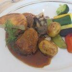 Canard avec ses petits légumes croquants