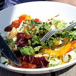 Excellent goat's cheese salad