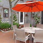 Relax on the Patio after a Busy Day on Nantucket