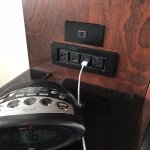 Bedside USB and Power Ports