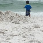 Our first stay at Camp Gulf. The kids loved camping on the sand.