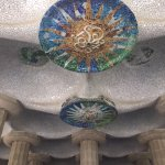 Park Guell ceiling detail