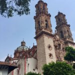 The school also arranged a day trip to the very beautiful little silver city of Taxco which was
