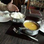 simple yummy veg food -dal & rice