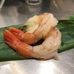 Aka Ebi Sushi - sweet sweet prawns!