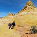 Beautiful spot at South Coyote Buttes