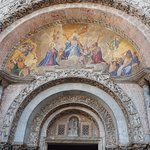Another shot of the paintings at San Marco Cathedral Venice Italy