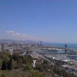 Barceloneta from Mirador