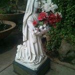 St. Bernadette at the Lourdes Grotto