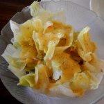 Salad with Honey Mustard Dressing