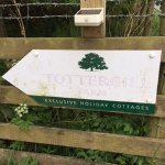 Tottergill signage that's easy to miss