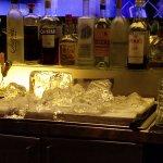 Block of Ice in Bar