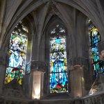 Vitraux de la chapelle dédiée à saint Hubert