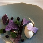 Blueberry cannelloni