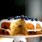 Our Lemon and Blueberry cake