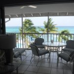 living room view of lanai / view outside