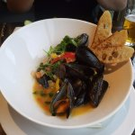 mussels were TO DIE FOR