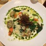 My ravioli. Very good, very tasty.