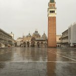 St. Mark's Square after the rain