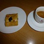 Espresso and pastry