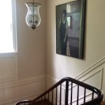 Stairwell (painting is one of many works by the B&B owner