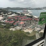 Arial view from Paradise Point