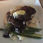 Filet and asparagus - best meal in Savannah by far!