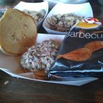 Best BBQ chicken sandwich and chili