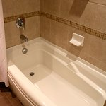 Large soaker tub