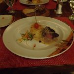 Filet Mignon with Gorgonzola sauce at Faisanella Italian Restaurant