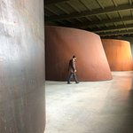 Richard Serra (this is at the lower level)
