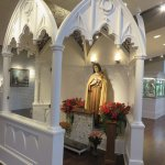 St. Therese's statue