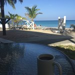 Morning coffee views from Caribe