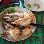 Grilled prawns (4) massive!