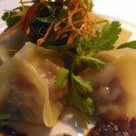 Steamy Hot Pork Dumplings