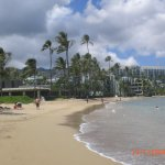 Kahala Hotel and beach (ignore date on photo, taken May 2017)